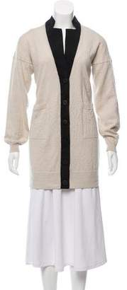 Aviu Cashmere Button-Up Cardigan