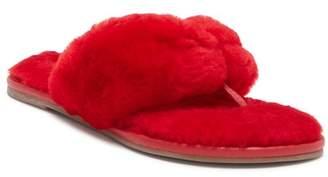 Bernardo Miami Genuine Dyed Shearling Sandal