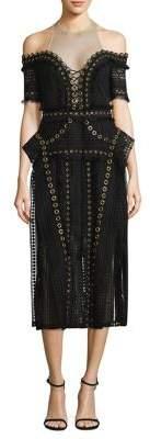 Thurley Black Magic Sheath Dress