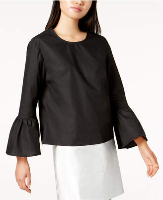 Glam by Glamorous Cotton Bell-Sleeve Top