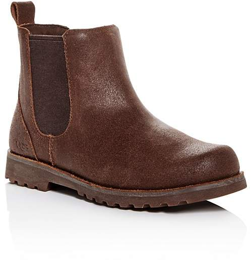 UGG® Boys' Callum Cracked Leather Boots - Little Kid, Big Kid