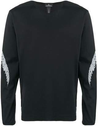 Stone Island Shadow Project printed sweatshirt