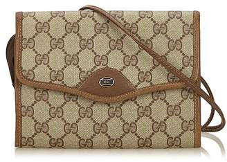 Gucci Vintage Guccissima Crossbody Bag