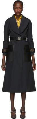 Fendi Black Forever Trench Coat
