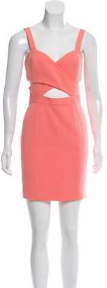 Jay Godfrey Cutout Mini Dress w/ Tags