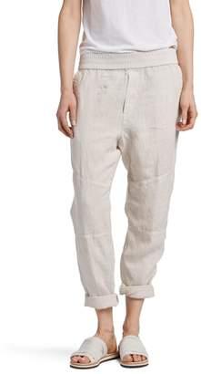 James Perse Patch Linen Pants