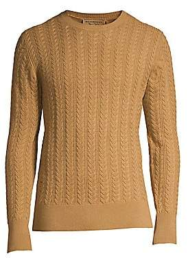 f535511cf99758 Burberry Men s Core Cashmere Cable Knit Sweater