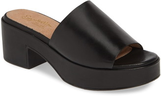 Seychelles One Of A Kind Platform Mule Sandal