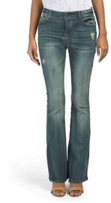Juniors Low Rise Bootcut Jeans