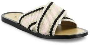 Rag & Bone Keaton Crisscross Cotton Slides