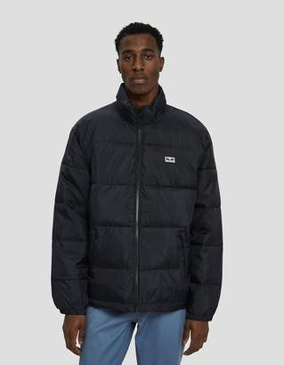 Obey Bouncer Puffer Jacket in Black