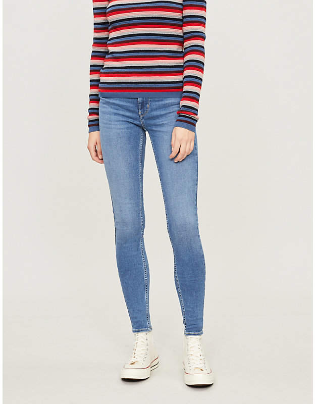 Innovation super-skinny mid-rise jeans
