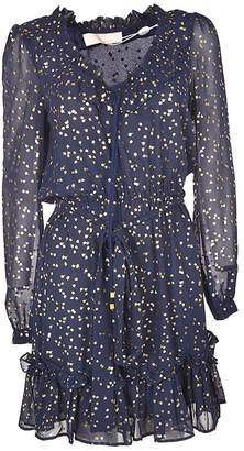 Michael Kors Printed Flared Dress