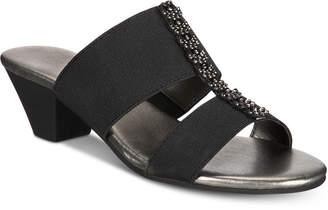 Karen Scott Zaila Slip-On Sandals, Created for Macy's Women's Shoes