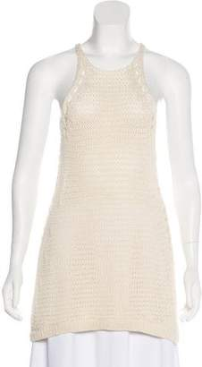 Halston Sleeveless Knit Tunic