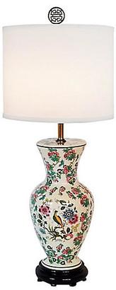 One Kings Lane Vintage Urn Porcelain Lamp - The Gilded Room