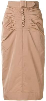 No.21 belt detail skirt