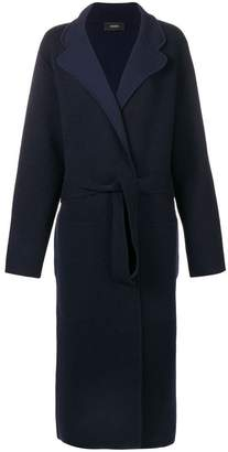 Joseph long belted coat