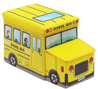 Big Fun Club Edina Kids' School Bus Toy Box