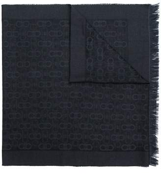 Salvatore Ferragamo Double Gancini bit scarf