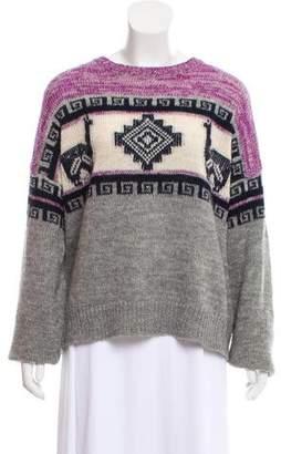 Etoile Isabel Marant Intarsia Crew Neck Sweater