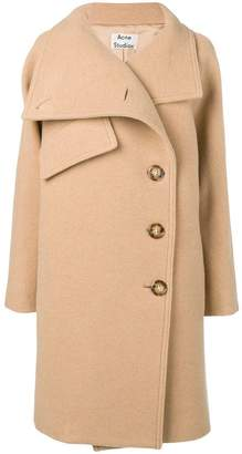 Acne Studios funnel neck coat