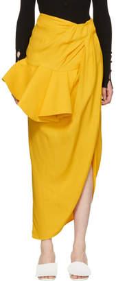 Jacquemus Yellow La Jupe Sol Skirt