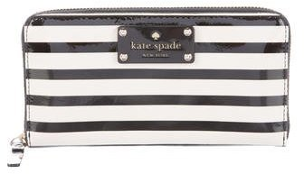 Kate SpadeKate Spade New York Striped Lacey Wallet