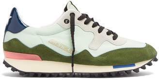 Golden Goose Starland suede and nylon low-top trainers