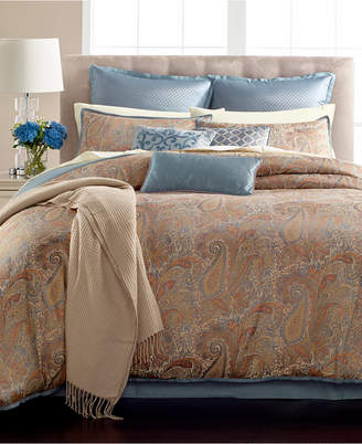 Martha Stewart Collection Paisley Plume 14-Pc. Queen Comforter Set, Created for Macy's Bedding