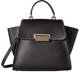 Zac Posen Eartha Iconic Micro Grommet Top-Handle Handbags