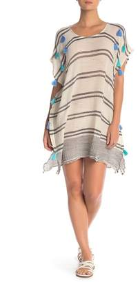 Surf Gypsy Tassel Applique Cover-Up