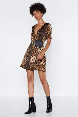 Nasty Gal If Not Meow Leopard Dress