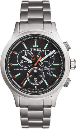 Timex R) ARCHIVE Allied Chronograph Bracelet Watch, 42mm