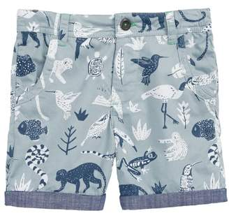 Boden Mini Roll-Up Shorts