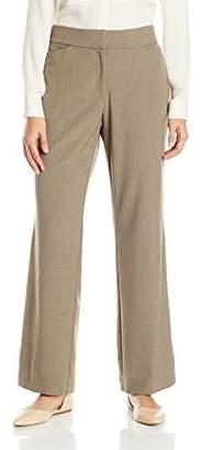 Briggs New York Women's Curvy Bistretch Straight-Leg Pant