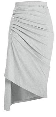 Paco Rabanne Draped Jersey Skirt