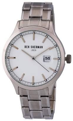Ben Sherman Men's Spitalfields Sport Bracelet Watch, 42mm