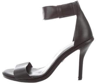 Kurt Geiger Leather Ankle Strap Sandals
