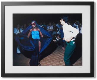 Sonic Editions Framed 1978 Grace Jones At Studio 54 Print, 16 X 20