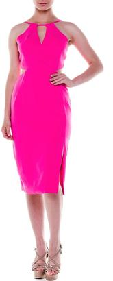 Bella Pink Midi Dress $96 thestylecure.com