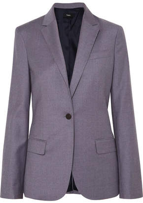 Theory Staple Wool Blazer - Blue