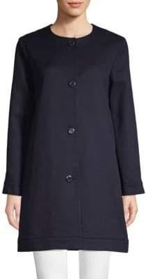 A.P.C. Classic Button-Front Coat