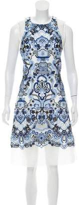 Alexis Embroidered Midi Dress