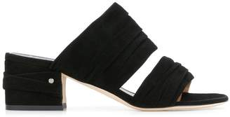 Laurence Dacade ruched strap sandals