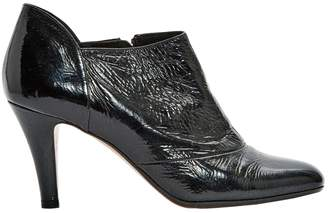 Michel Perry Black Patent leather Ankle boots