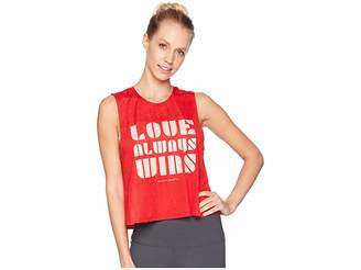 Spiritual Gangster Luv Active Crop Tank