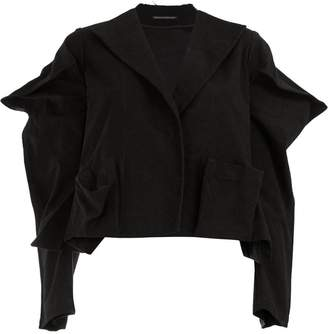 Yohji Yamamoto pointed sleeves blazer