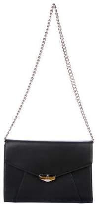 Mark Cross Leather Chain-Link Crossbody Bag