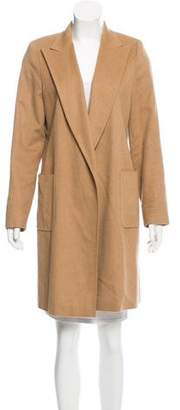 Max Mara Camel Knee-Length Coat